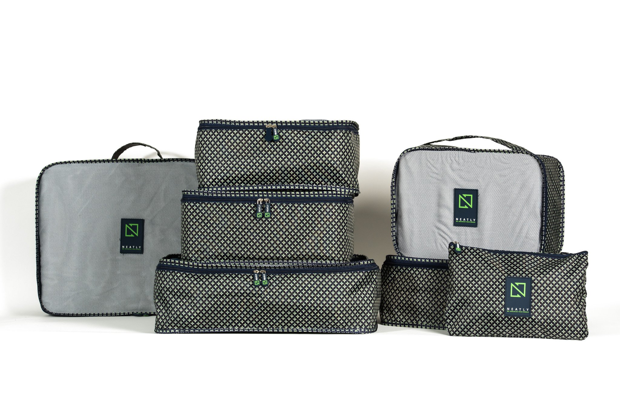Neatly Travel Packing Cubes - 7 Piece Premium Luggage set