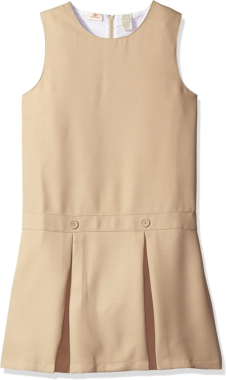 Dockers Girls' Uniform Pleated Jumper