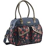 JJ Cole Diaper Bag, Carryall, Navy Floral