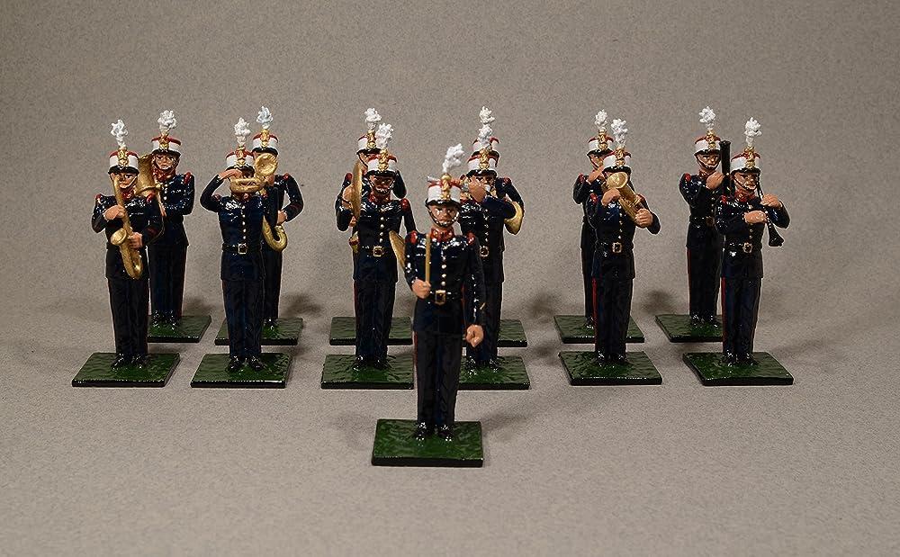 Soldados de plomo ALYMER de la Banda de Música de la Guardia Real española.: Amazon.es: Handmade