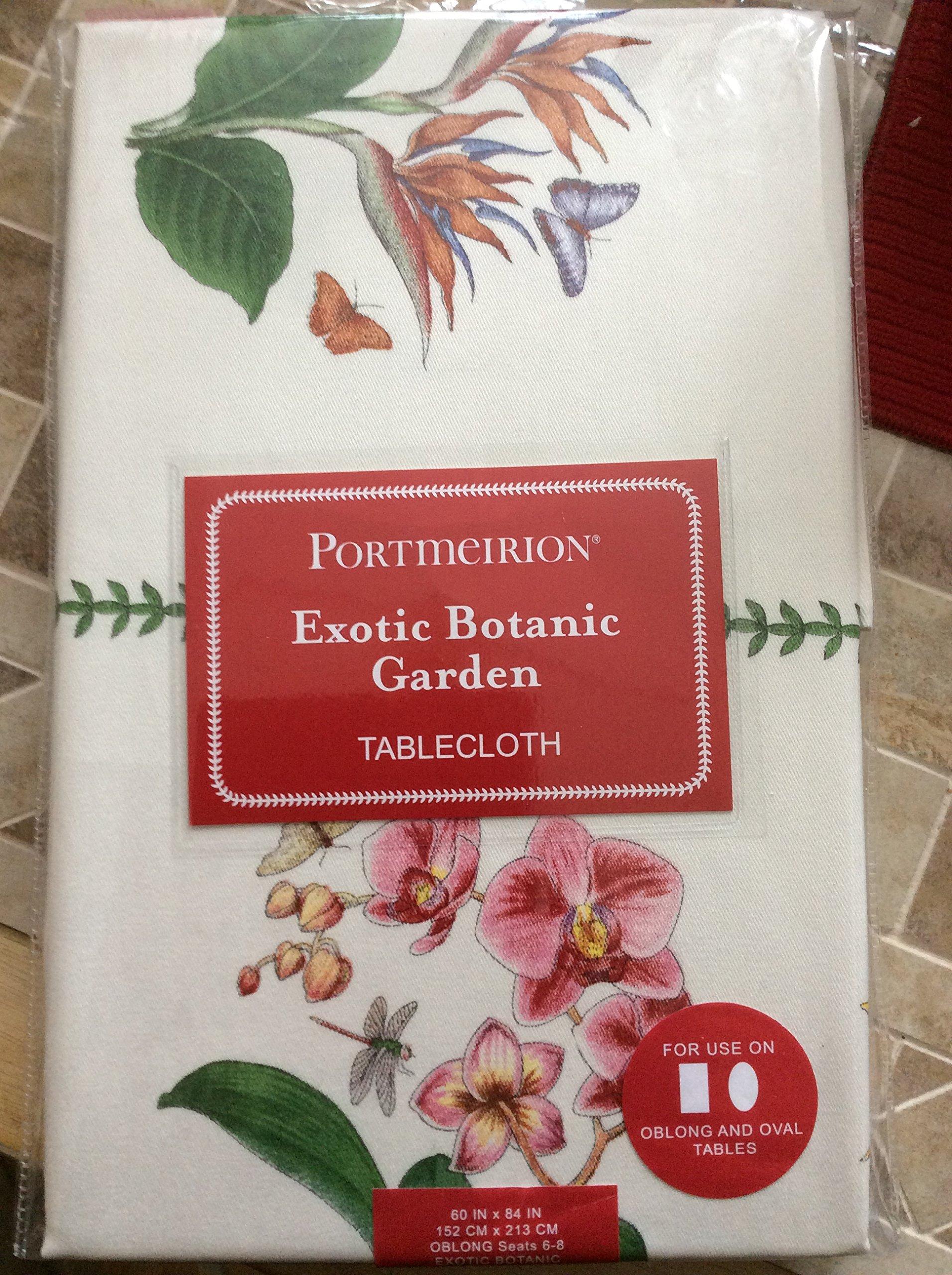 Portmeirion Exotic Botanic Garden (Tablecloth 60''x84'')