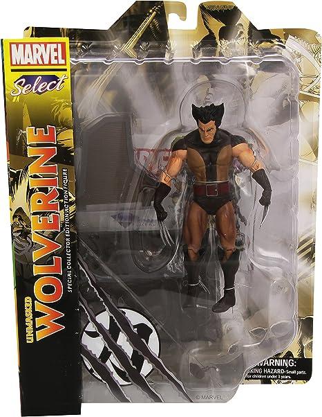 Diamond Select Marvel Select Unmasked Wolverine Figure