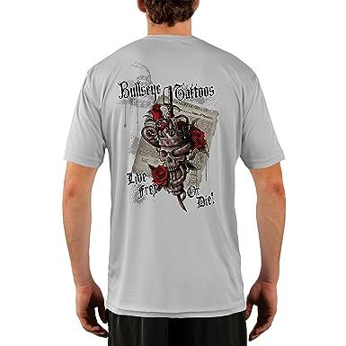 Diana Tatuajes Hombres del rey calavera UPF rendimiento camiseta ...