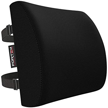 Lumbar Support for Office Chair | Back Pillow for Car | Memory Foam Orthopedic Cushion by  sc 1 st  Amazon.com & Amazon.com: Lumbar Support for Office Chair | Back Pillow for Car ...