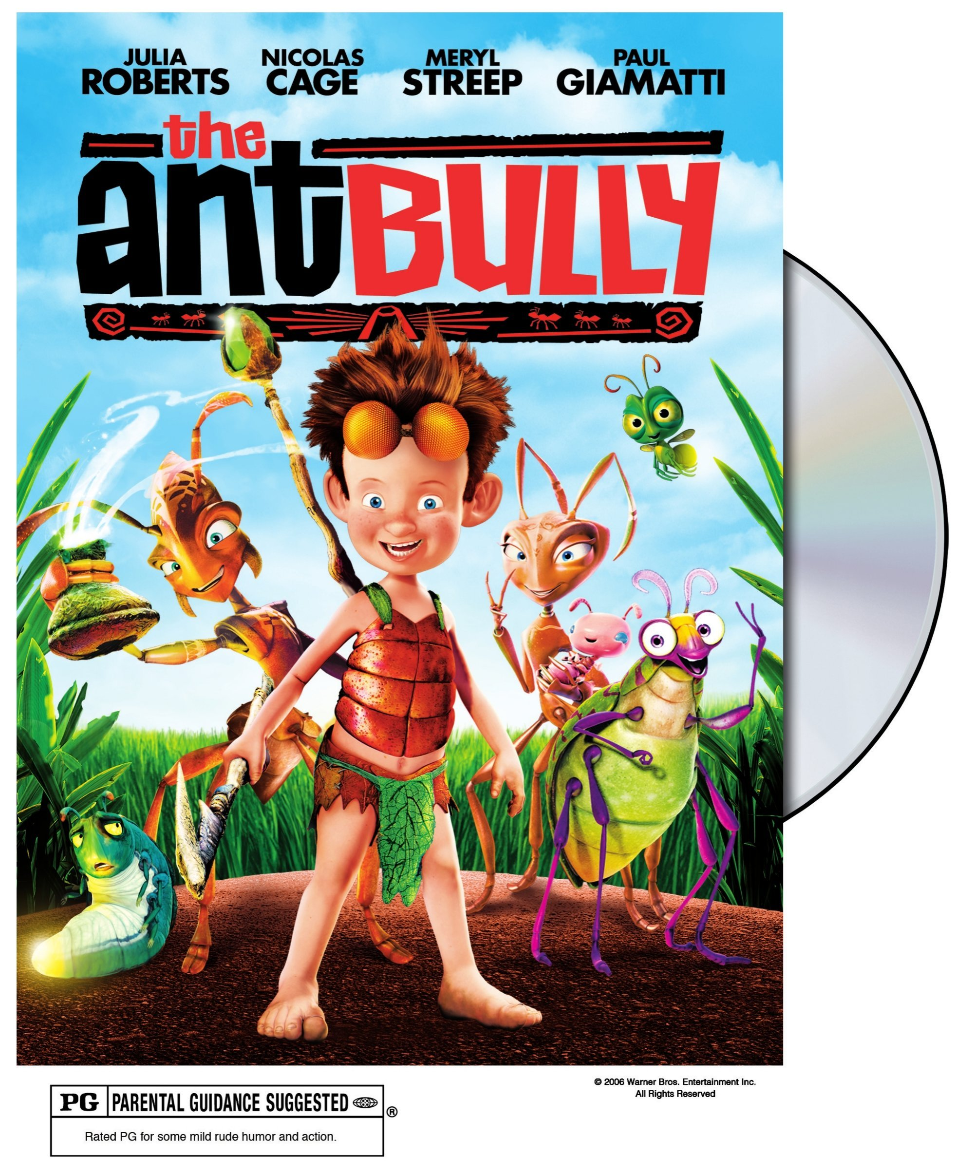 DVD : The Ant Bully (, Dubbed, Dolby, AC-3, Slipsleeve Packaging)