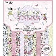 Dovecraft Premium Fairy Tales FSC 8x8 Paper Pack, Multicolour, 1