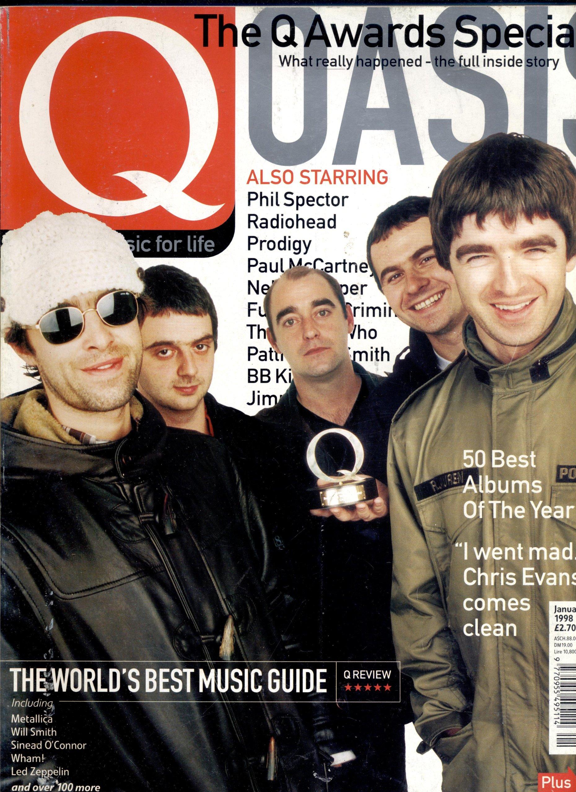 Q Magazine Issue 136 January, 1998 David Davies Amazon.com