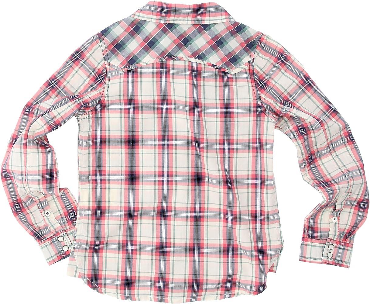 Lee - Camisa a Cuadros para niña, Talla 8 ANS - Talla Francesa, Color Rojo (Faded Red): Amazon.es: Ropa y accesorios
