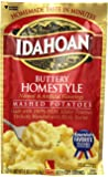Idahoan Buttery Homestyle Mashed Potatoes, Made with Gluten-Free 100-Percent Real Idaho Potatoes, 4-ounce Pouch (4…