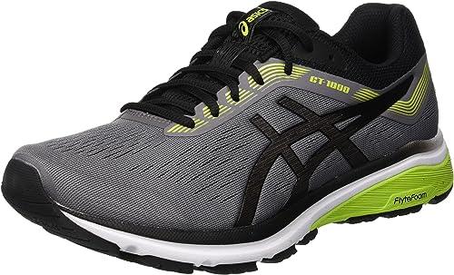 New Men/'s Asics GT1000 7 Running Shoes Grey /& Black