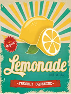 vintage lemonade sign 89468 linepc