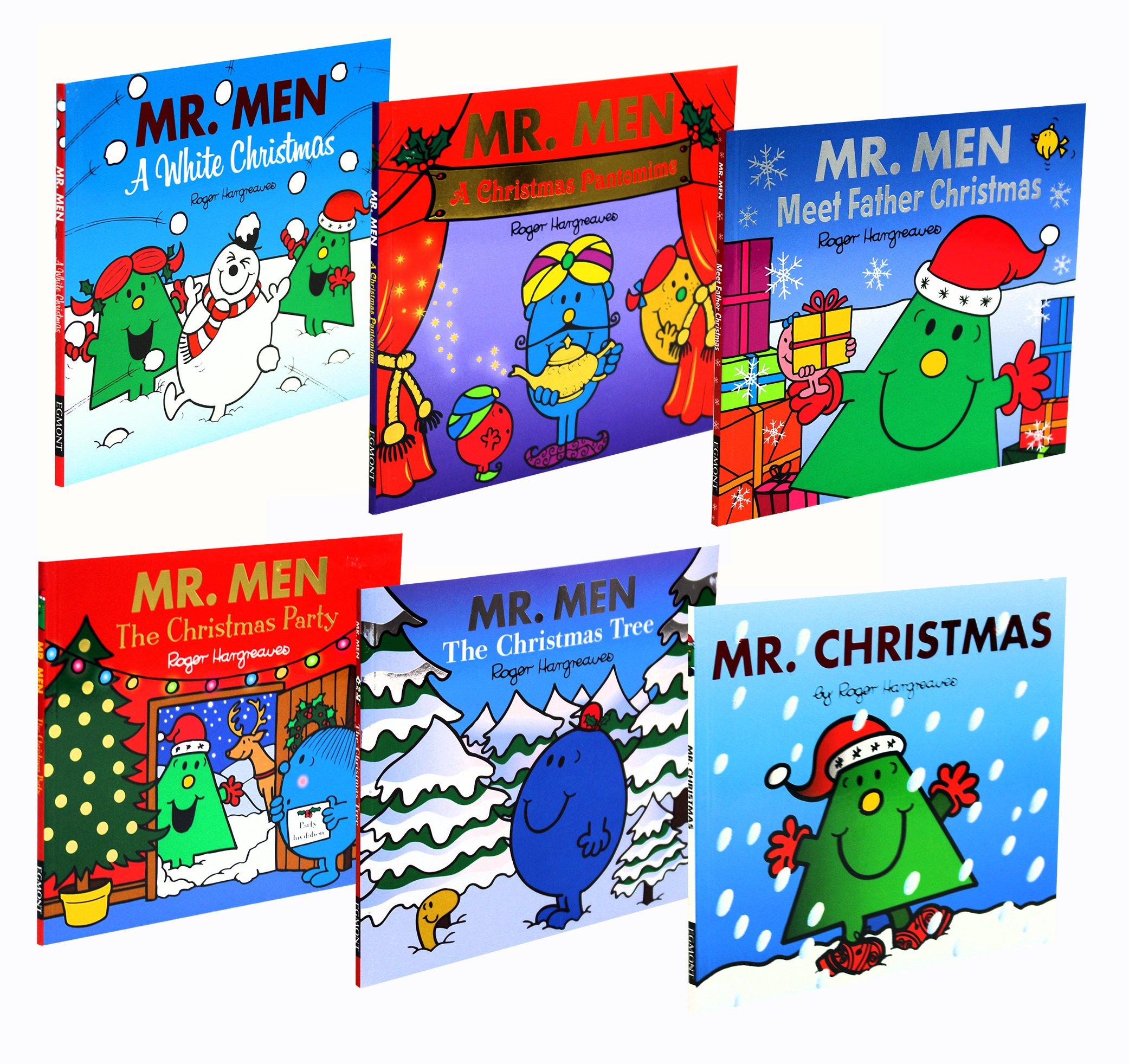 Mr. Men Christmas Childrens Collection 6 Books Set Pack New (Mr. Men ...