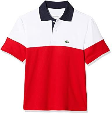 b680e3590 Lacoste Boy's Dj5370 Polo Shirt: Amazon.co.uk: Clothing