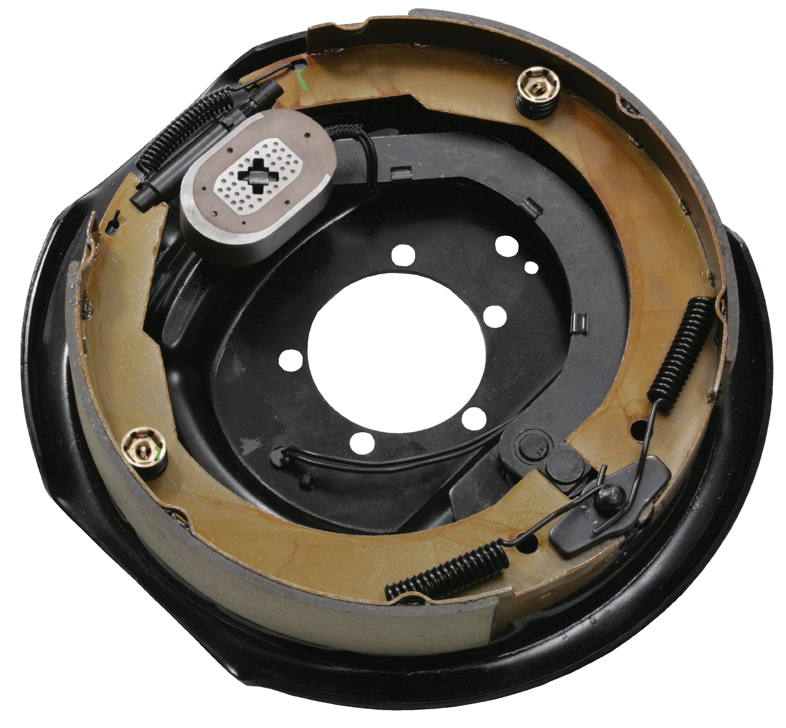 Husky 30799 12'' x 2'' Left Handed Electric Brake Assembly - 4000 to 6000 lbs. Load Capacity by Husky
