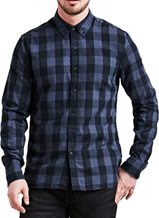 Levis - Camisa Levi´s de Quadros con Lyocell: Amazon.es: Ropa y accesorios