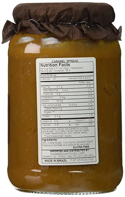 Amazon.com : Reserva de Minas - Milk Fudge - 25.04oz (PACK OF 01)   Doce de Leite - 710g : Grocery & Gourmet Food