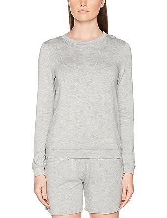 Huber Damen Sweatshirts 24 Hours Women Lounge Lounge Shirt, Grau (Light  Grey 016611) 89a6f822ce