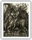 "Albrecht Durer Master Print : ""Knight, Death and the Devil"" (1513) — Giclee Fine Art Reproduction"