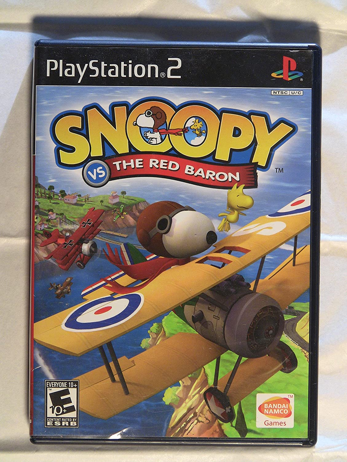 Snoopy Vs The Red Baron Game Amazon Co Uk Pc Video Games