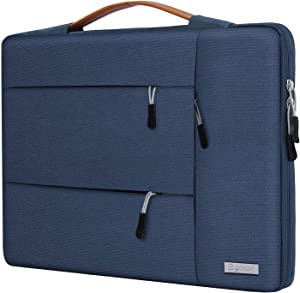 Egiant 15 inch Laptop Sleeve Case,360° Protective Shockproof Handbag for MacBook pro 15 Retina,MacBook pro 15 Touch Bar,2019 Mac pro 16,XPS 15,15 inch Surface Laptop 3,with 3 Accessory Pocket - Blue