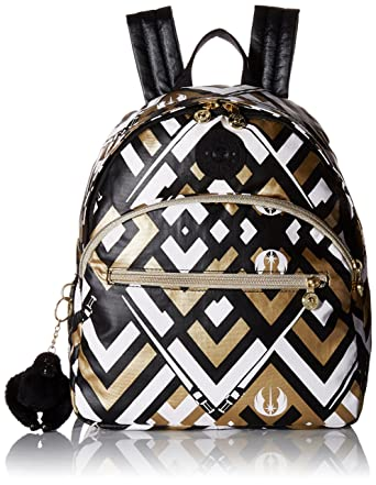 7e1d93b0a1b Amazon.com  Kipling Star Wars Paola Small Backpack Light Saber  Clothing
