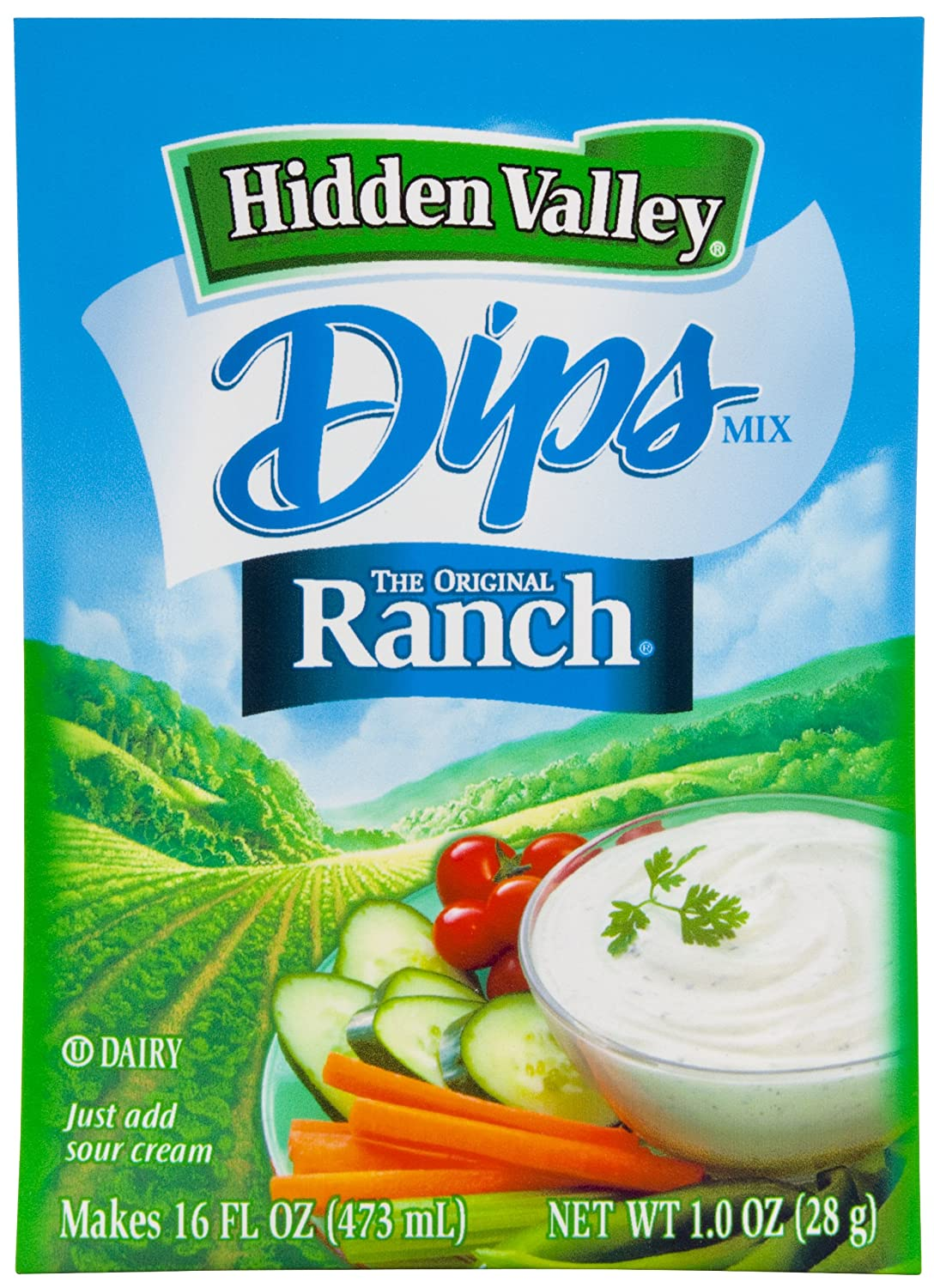 hidden valley ranch dip mix into dressing. Black Bedroom Furniture Sets. Home Design Ideas
