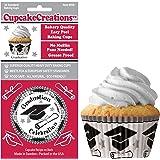 Cupcake Creations Graduation Baking Cup, Set of 32