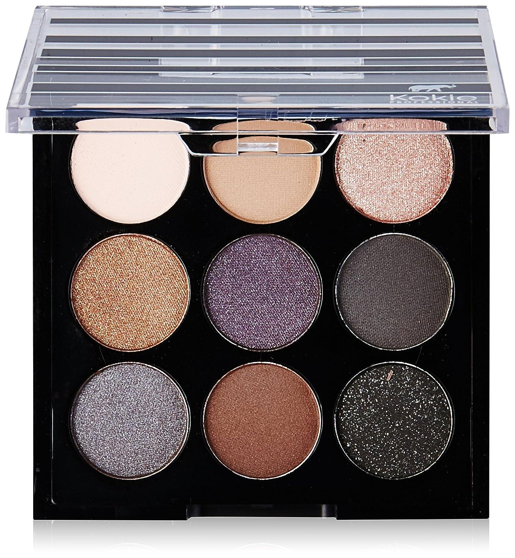 Kokie Cosmetics Eyeshadow Palettes, Smolder, 0.21 Ounce Inc.