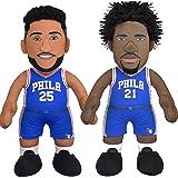 "Bleacher Creatures Philadelphia 76ers Dynamic Duo: Ben Simmons & Joel Embiid 10"" Plush Figures"