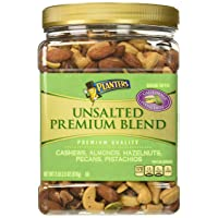 Deals on Planters Premium Blend Mixed Nuts Unsalted 34.5oz