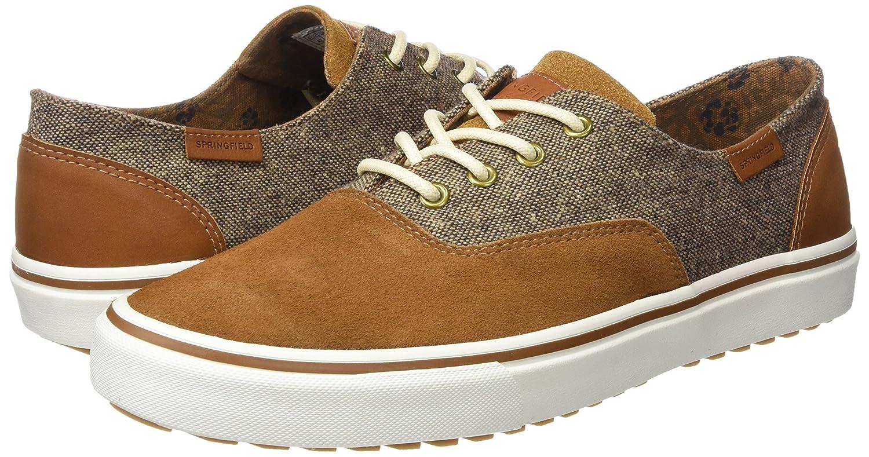 Springfield Bamba Piel, Zapatos para Hombre, Dark Brown, 41 EU