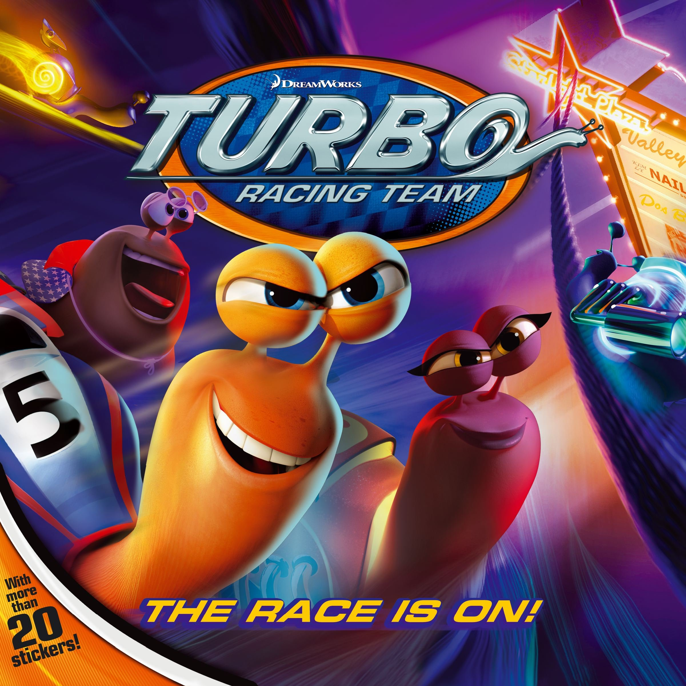 The Race Is On! (Turbo) Paperback – June 11, 2013