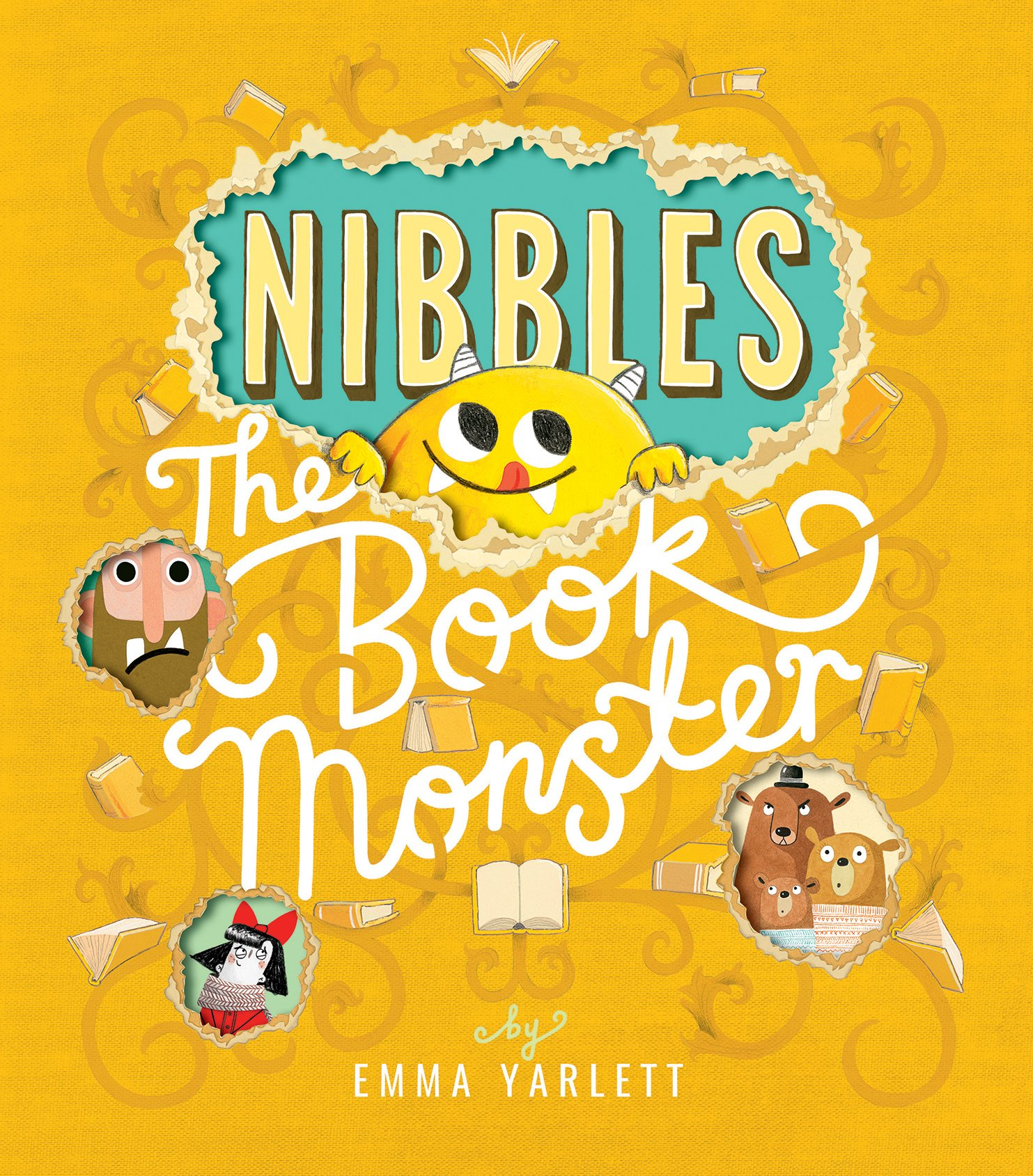 Nibbles the Book Monster (Nibbles (1)): Amazon.co.uk: Yarlett, Emma: Books