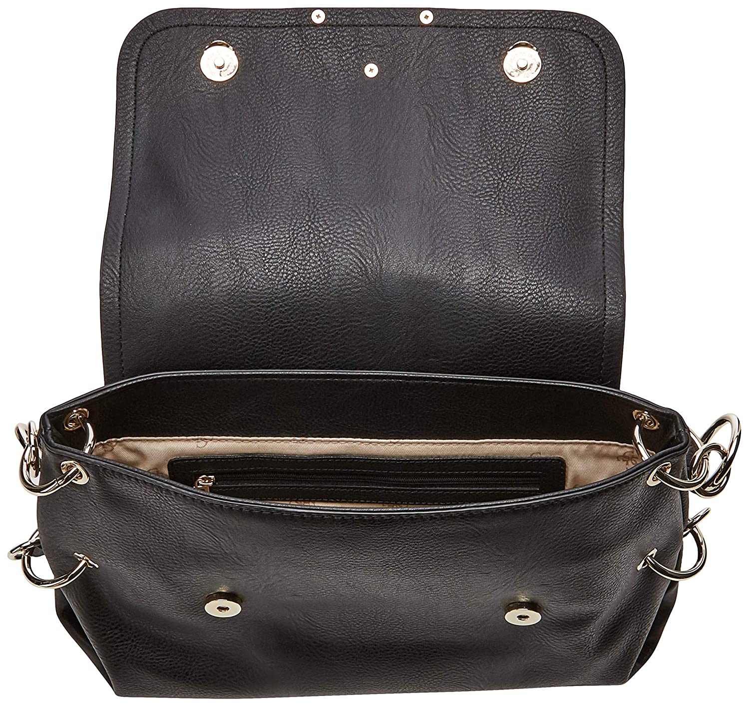 Guess dam Cary Shoulder Bag axelväska Svart (Black)