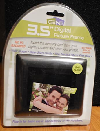 giinii gn 311 35 inch digital picture frame