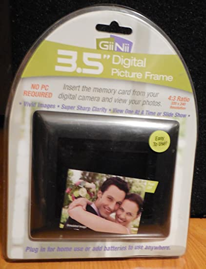 Amazon.com : GiiNii GN-311 3.5-Inch Digital Picture Frame : Digital ...
