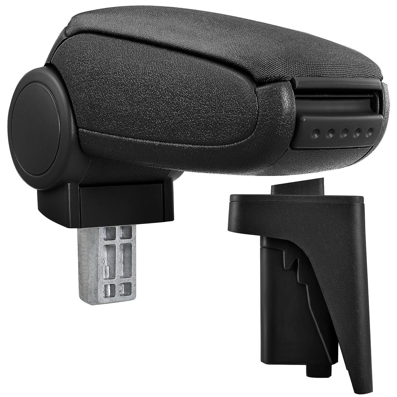[pro.tec] Armrest Perfekt Fit - Centre Console + inkl. Storage Box - imitation leather cover / black
