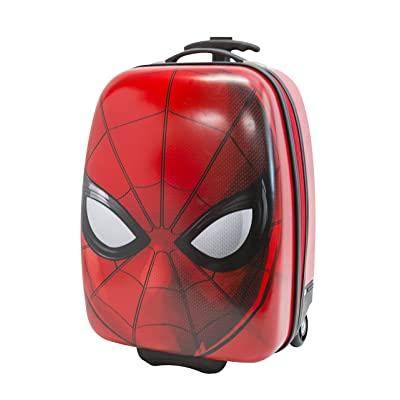 Marvel Boys' Spiderman Hard Shell, Red