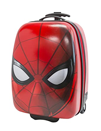 Marvel Boys' Spiderman Hard Shell, Red
