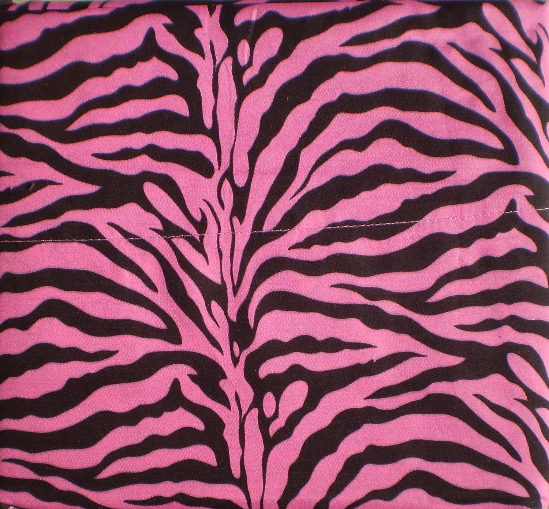Hot pink bed sets - Amazon Com Hot Pink Zebra Print Queen Size Sheet Set 4 Pc Safari Animal Print Bedding Home Kitchen