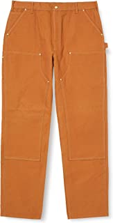 product image for Carhartt Men's Firm Duck Double-Front Work Dungaree Pant B01