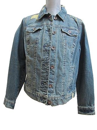1f14f76a Tommy Hilfiger Jean Jacket Womens Jeanne Vintage at Amazon Women's ...