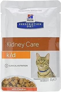 Hills C-54594 Diet Feline K/D Sobre - 12 x 85 gr