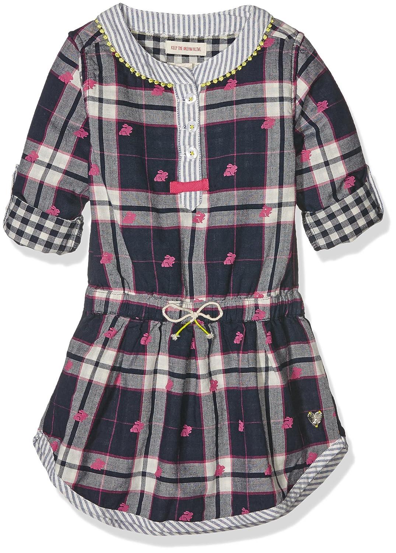 Hatley Mädchen Kleid Ski Bunny Bonded Plaid Dress