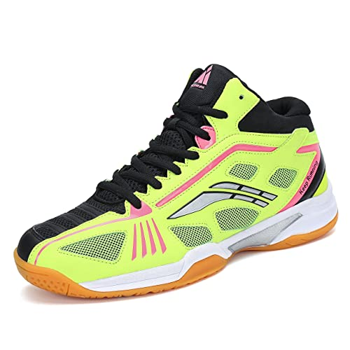 b2f0f4662f91 Fashion Sneakers Badminton Shoes Men Non Slip Indoor Court Tennis  Volleyball Sneakers Safety Training Shoe