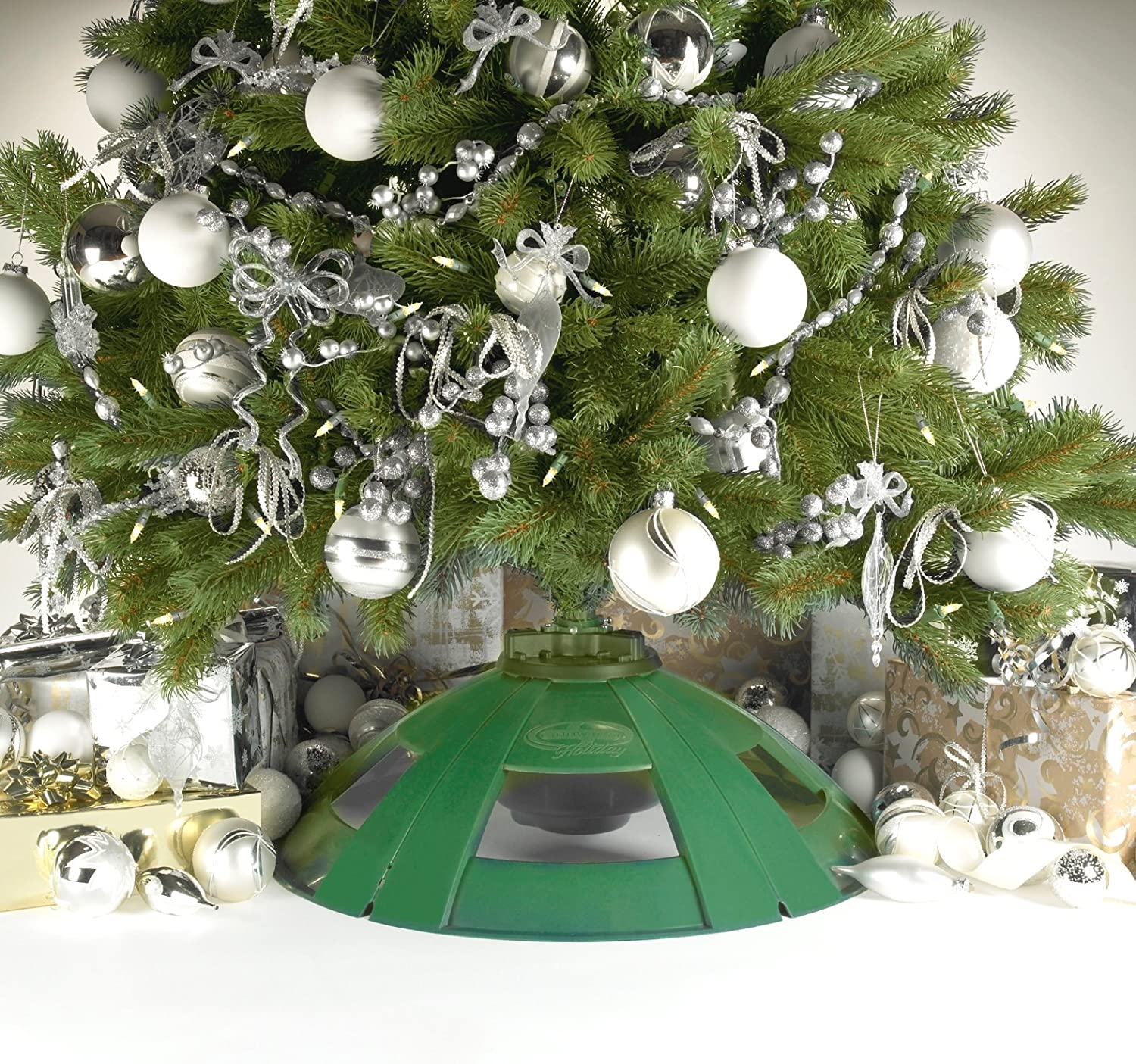 Amazon.com : Snow Joe SJ092M Rotating Artificial Christmas Tree ...