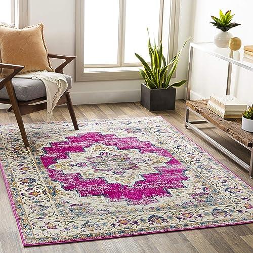 Artistic Weavers Melta Pink Area Rug