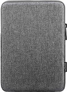 MoKo 11 Inch Tablet Sleeve Bag Carrying Case Fits iPad Pro 11, iPad 8th 7th Generation 10.2, iPad Air 4 10.9, iPad Air 3 10.5, iPad 9.7, Galaxy Tab A 10.1, Tab S6 Lite, S7, Fit Smart Keyboard