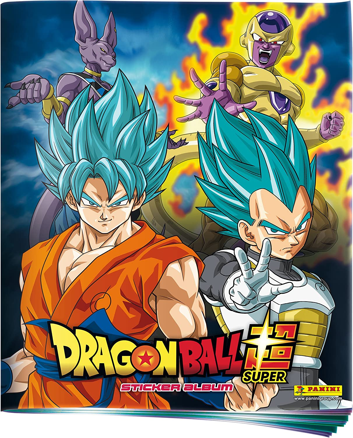 Panini – Álbum Dragon Ball Super, 2407 – 009: Amazon.es: Juguetes y juegos