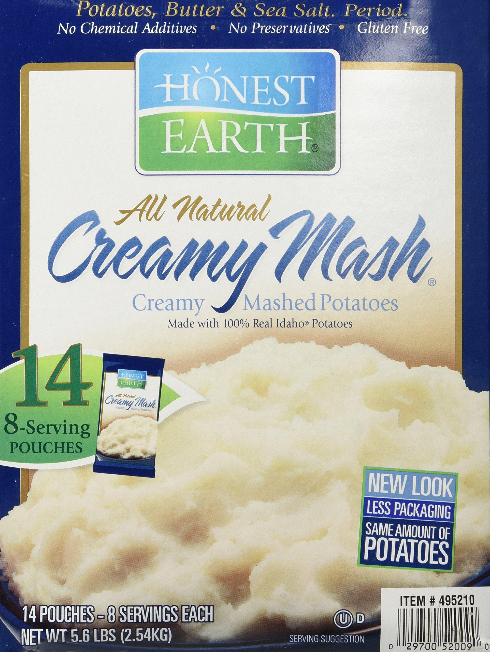 Honest Earth Creamy Mashed Potatoes Dry Mashed Potatoes 25kg 181g